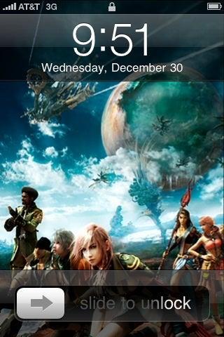 Final Fantasy, Super Mario, Doom, What's On Your Phone's Desktop?
