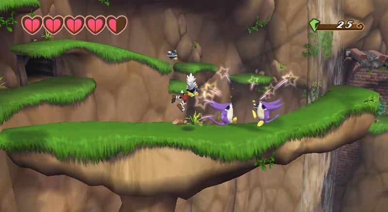 Klonoa Wii-make Challenge Preview: Yep, It's Challenging