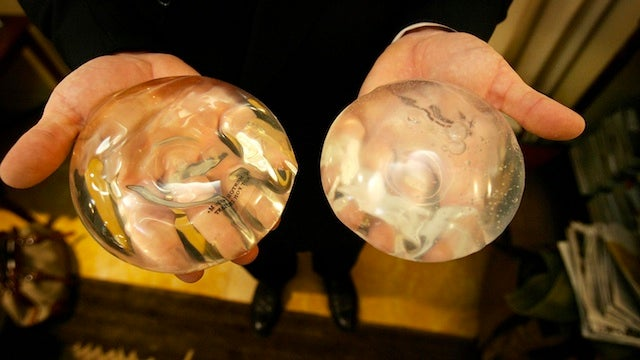 Breast Implant Saves Woman From Husband's Knife Attack