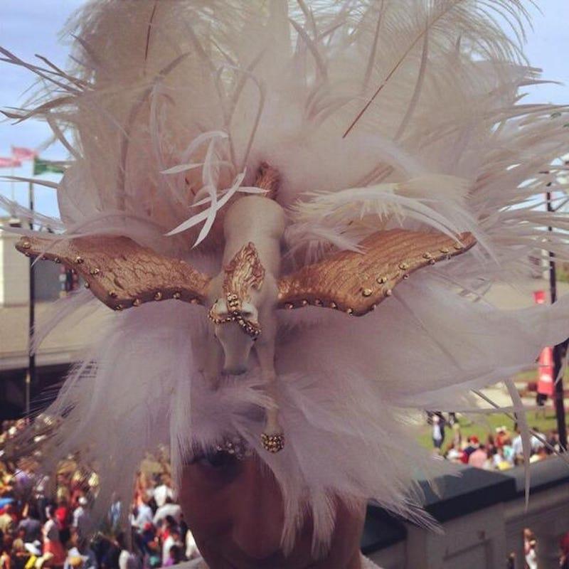 Weir Watch: Chicken Feather Pegasus Hat