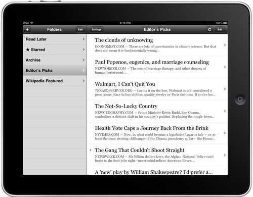 Sneak Preview: Inside the iPad App Store