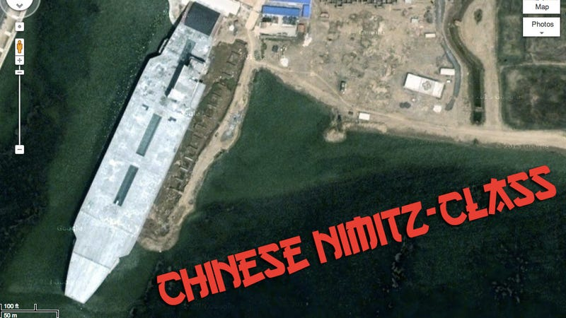 China Built A Nimitz-Class Aircraft Carrier Made Of Concrete