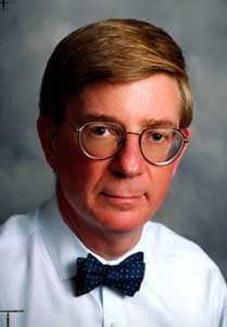 George Will Swathed in Polyester