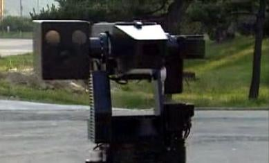 Robotic Sentry Shoots and Laughs at You