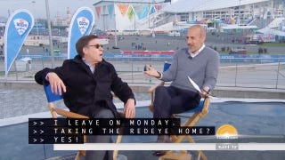 Matt Lauer Asks Bob Costas If He'll Be Taking The Red-Eye Flight Home