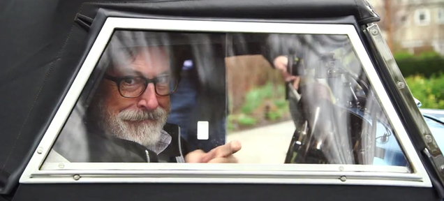 Comedians In Cars Getting Coffee Season 6: Stephen Colbert In A Morgan!