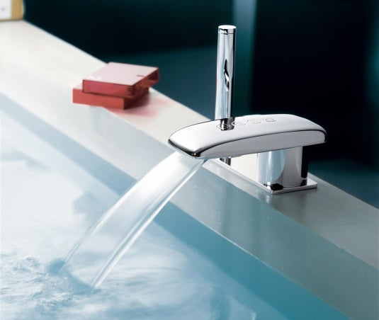 Jean Nouvel's Faucets Have Touchsensing PlayStationish Buttons