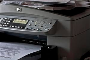 Use a Printer for Counting Stacks of Pre-Printed Documents