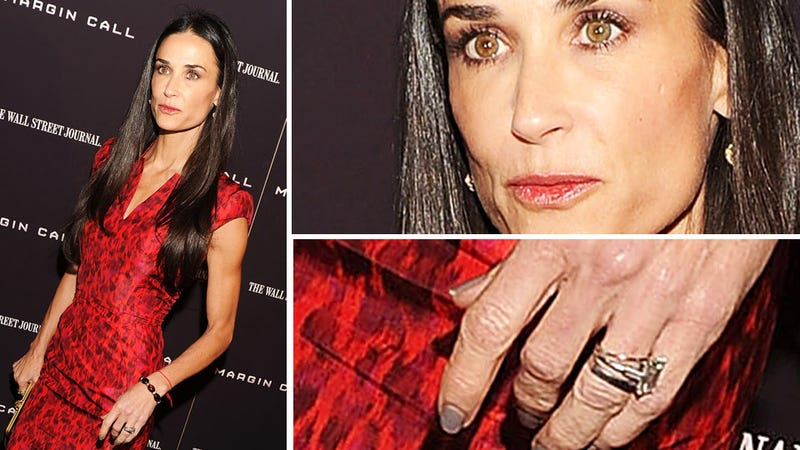 Demi Moore Still Wearing Her Wedding Ring and Other Beacons of Hope