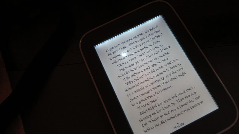 You Really Don't Want to Drop the New Nook Simple Touch