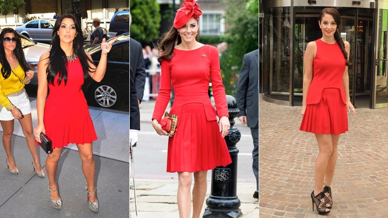 Kate Middleton Wore the Same Dress as Kim Kardashian