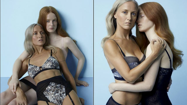 Mother-Daughter Lingerie Ad Sparks 'Incense' Criticism