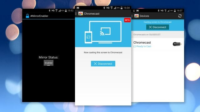 Mirror Enabler Brings Chromecast Screen Mirroring to More Devices