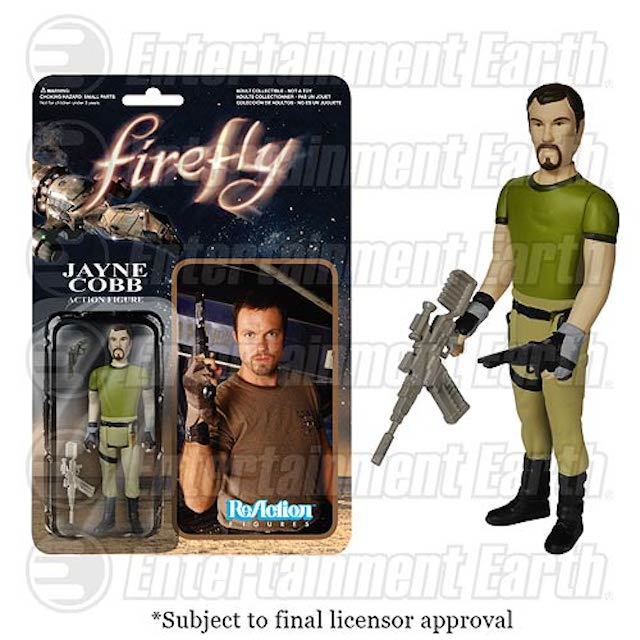 These first official Firefly action figures are not particularly shiny