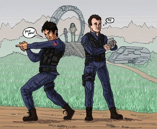 Stargate Atlantis Comic Promises Hot McKay 2D Action