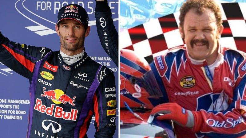 Sebastian Vettel Channels His Inner Ricky Bobby After Qualifying First