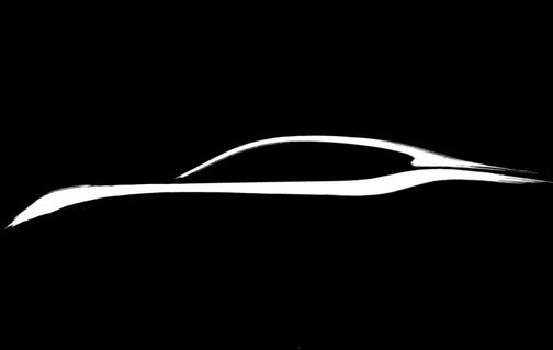 2011 Infiniti M Teaser Sketch Previews Virtual Pebble Beach Unveil