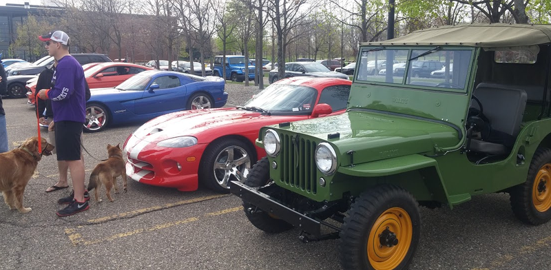 Check Out The Amazing Machines At Fiat Chrysler's Cars And Coffee