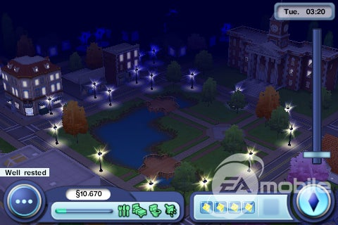 The Sims 3 iPhone Screens May Touch You