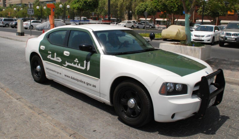 These Are The Crazy Cars Of The Dubai Police