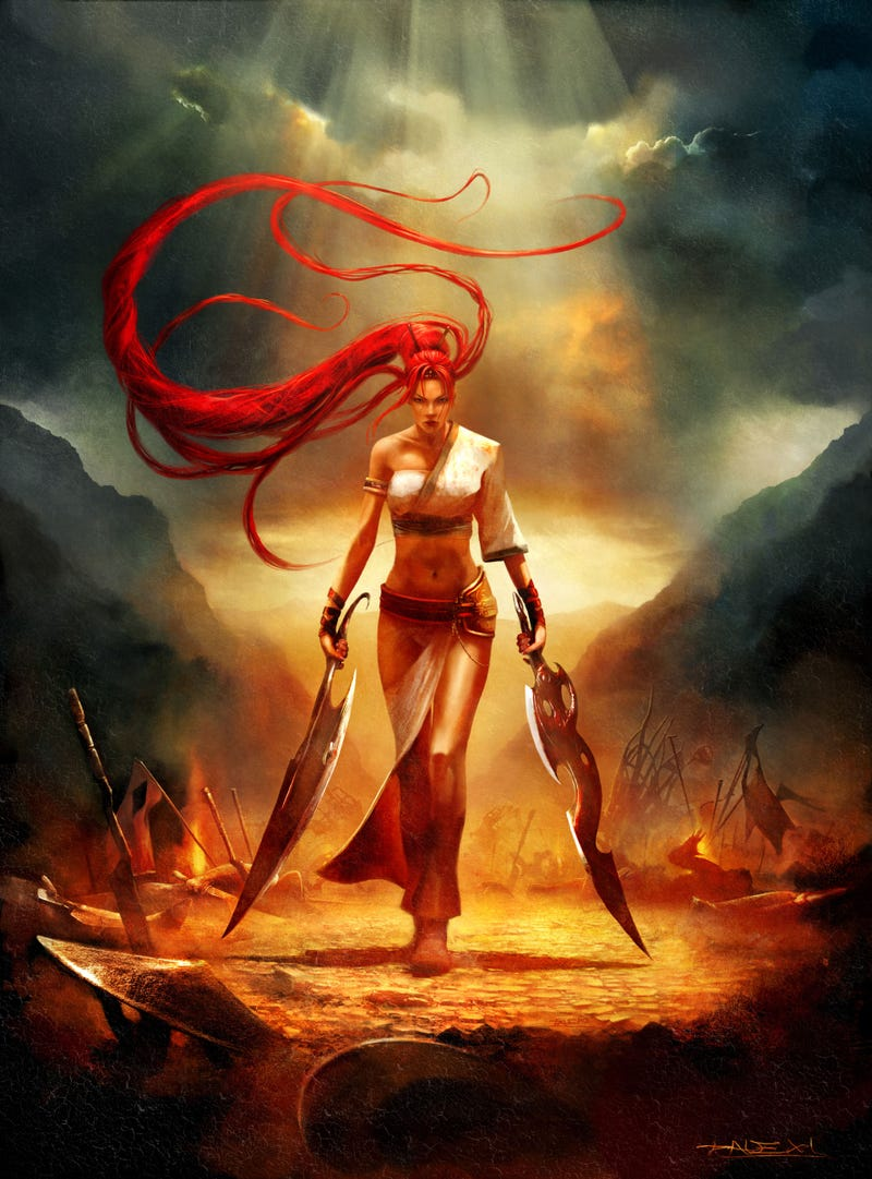 The Sexy, Colourful Art of DMC, Enslaved and Heavenly Sword