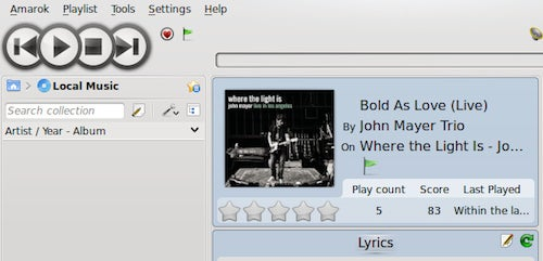 Amarok Media Player Updates: Features Added, Bugs Squashed, and Usability Tweaked