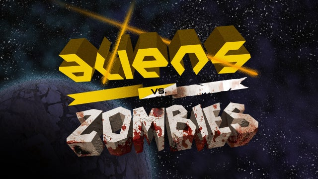Quick: Which is more terror-inducing, aliens or zombies?