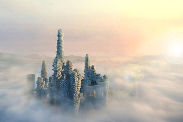 Shenzhen's Towering City Within a City Will Battle a Tide of Smog