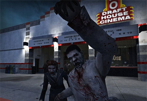 Left 4 Dead Map Recreates Zombie Film Fest Theater For Zombie Film Fest