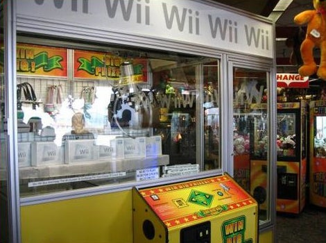 The Wii Crane Game