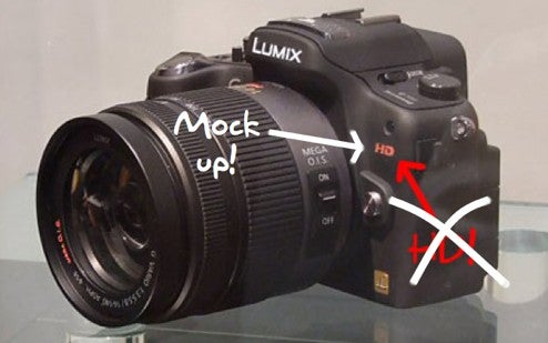 Panasonic Lumix DMC-G1 Doesn't Shoot HD Video