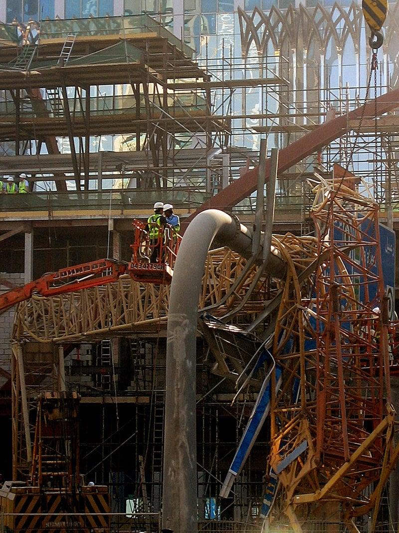When Dubai's Mega-Buildings Attack