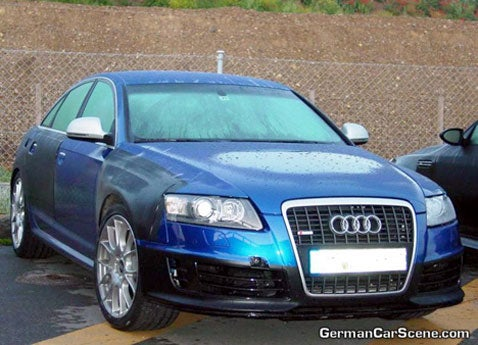 Over the Back Fence: Audi RS6 to Get More Than 600 Horsepower