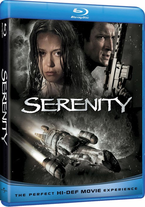 Serenity Bounces Onto Blu-ray With Actually Awesome Cover and a Ton of New Features