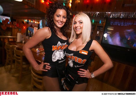 What Does It Take For A 32A To Get Hired By Hooters?