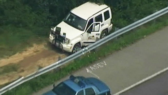 Sledgehammer-wielding anti-speed camera nutjob shuts down Maryland freeway