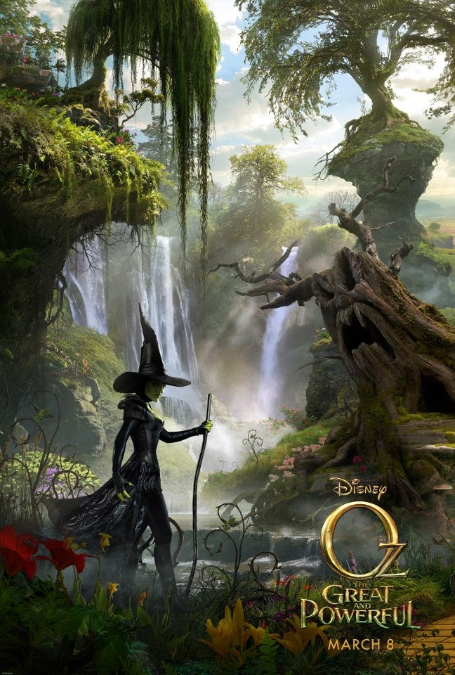 Stare into the eyes of the flying monkeys from Oz: The Great and Powerful