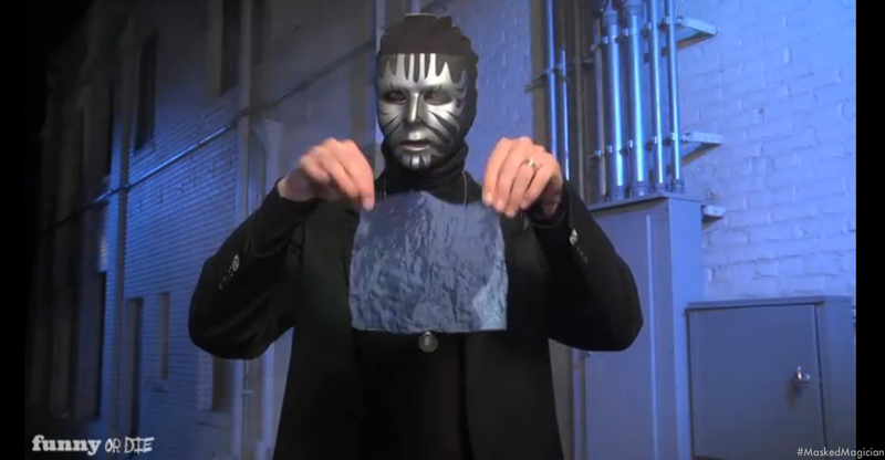 This Week's Top Comedy Video: Masked Magician Tricks Revealed (NSFW)