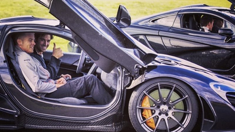 Baseball Player CJ Wilson Just Drove The McLaren P1, Is Really Lucky