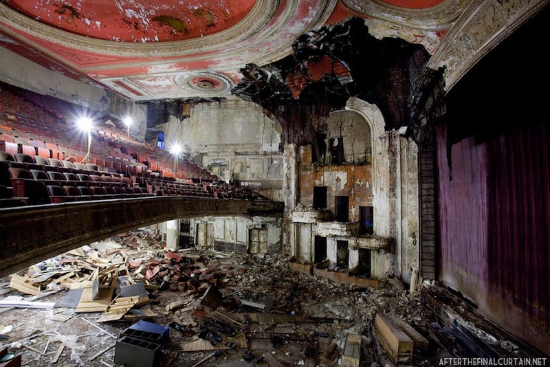 Gorgeous Old Movie Theaters That Have Fallen Into Ruin