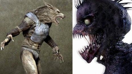 Werewolves In Armor Versus Vampire Bill Versus Ice