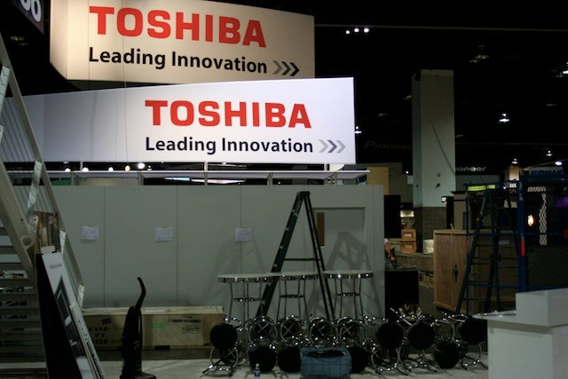 CEDIA 2008 Infiltrated: Booths Under Construction, A Few Tidbits Already Powered Up