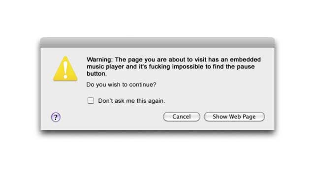 Every Bloody Web Browser Needs This Alert