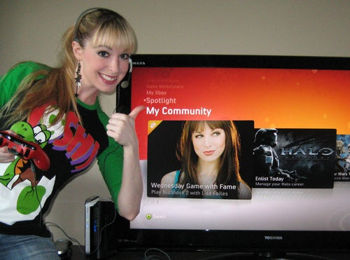 I Was An Xbox Live Celebrity, For One Night Only