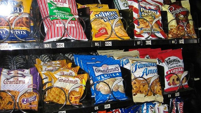 Choose the Healthiest Options from a Vending Machine