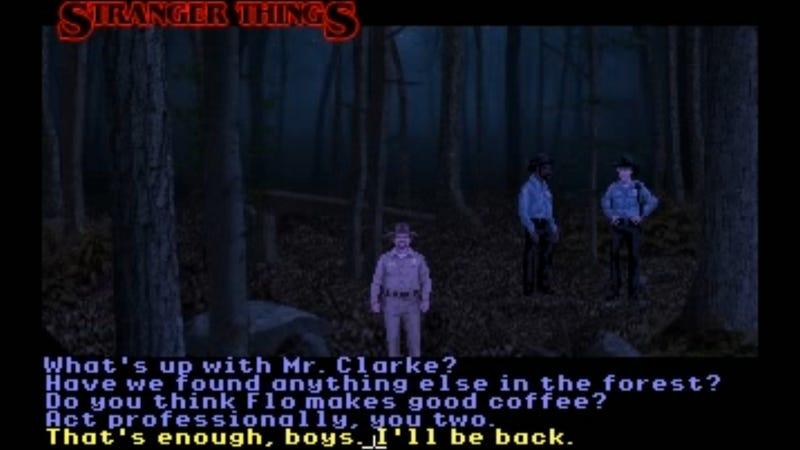 Stranger Things Adventure Game Tribute Is Just Right