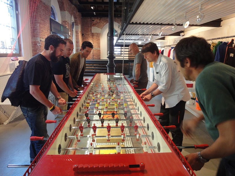 22-Person Table Solidifies Foosball as Sport