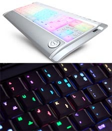 Luxeed Keyboard is Like a Rainbow Under Your Fingers
