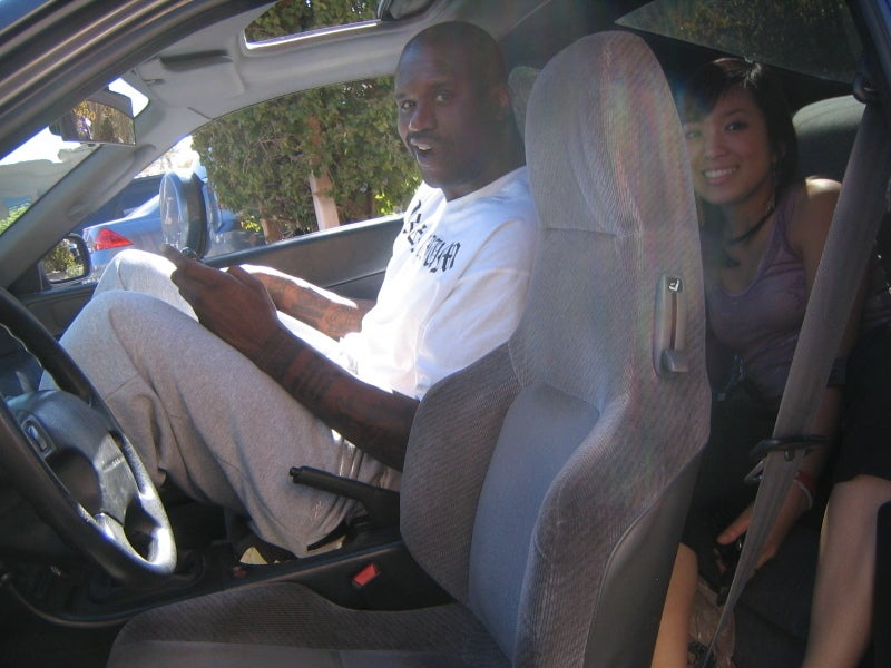 Honda Prelude Not Built With Shaq In Mind