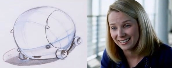 Yahoo CEO Marissa Mayer Wanted to Work from Her 'Little Bubble' Car
